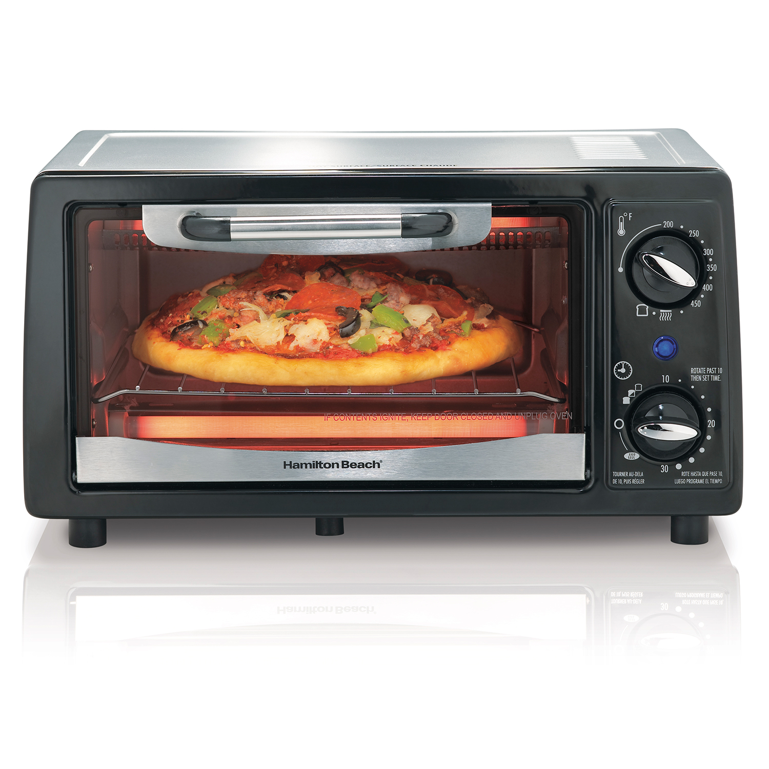 4 Slice Capacity Toaster Oven (31144)