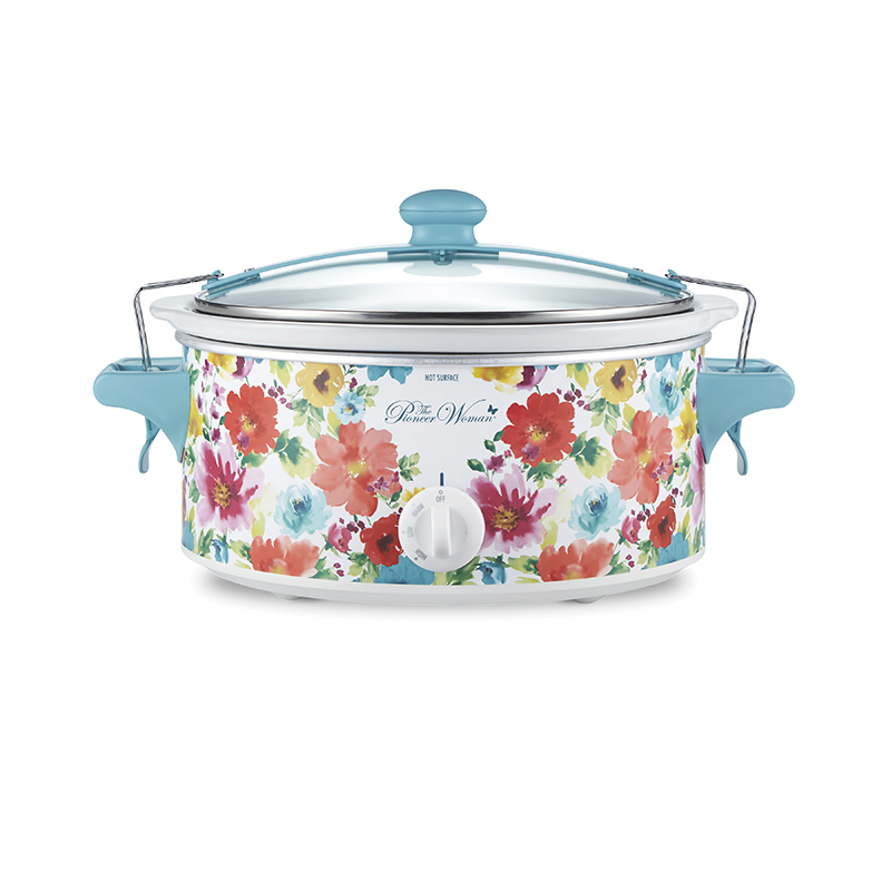 The Pioneer Woman® Breezy Blossom 6 Quart Portable Slow Cooker (33062)