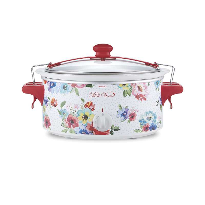 The Pioneer Woman® Melody 6 Quart Portable Slow Cooker (33063)