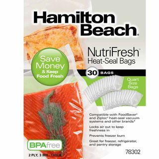 Get parts for NutriFresh™ Quart Heat Seal Bags, 30 Count (78302)