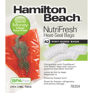 Get parts for NutriFresh™ Pint Heat-Seal Bags, 42 Count (78304)