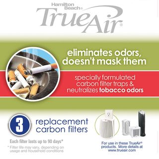 Get parts for TrueAir® Replacement Air Filters 3-Pack for Smoke Odors