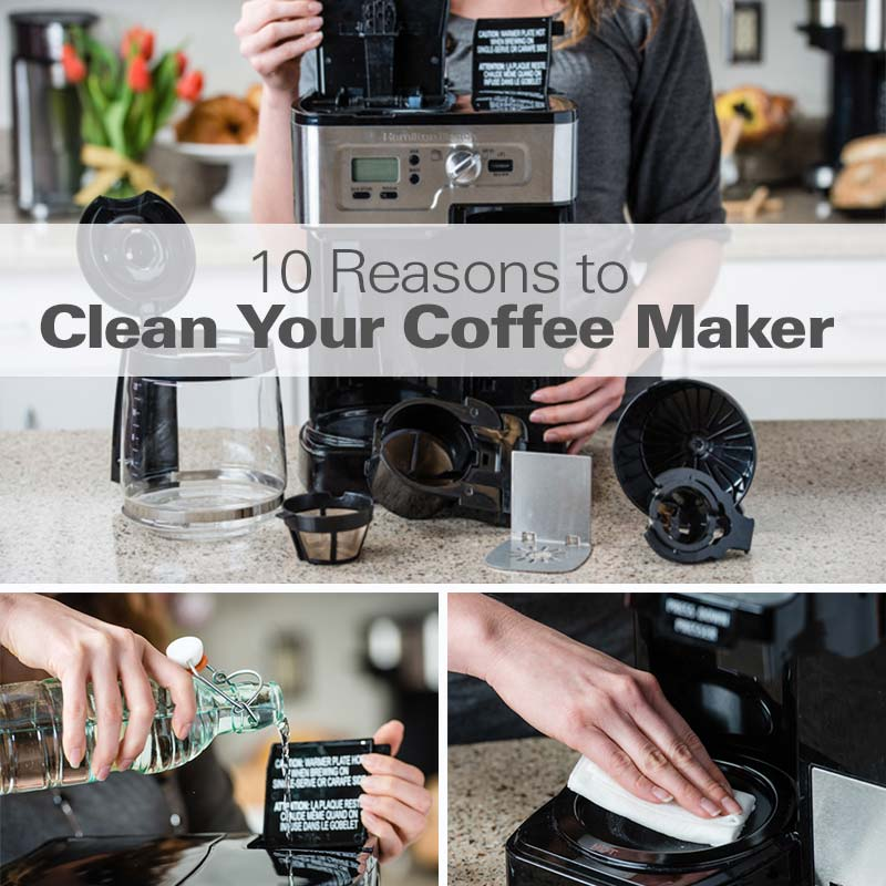 Mobile - 10 Reasons to Clearn Your Coffee Maker