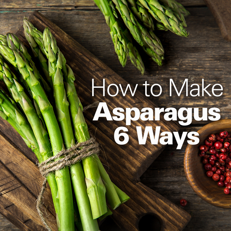 Mobile - How to Make Asparagus 6 Ways