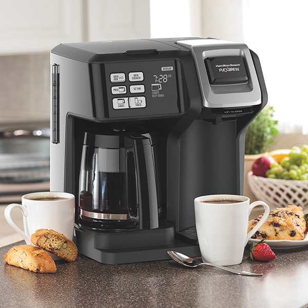 FlexBrew coffee maker on a kitchen counter