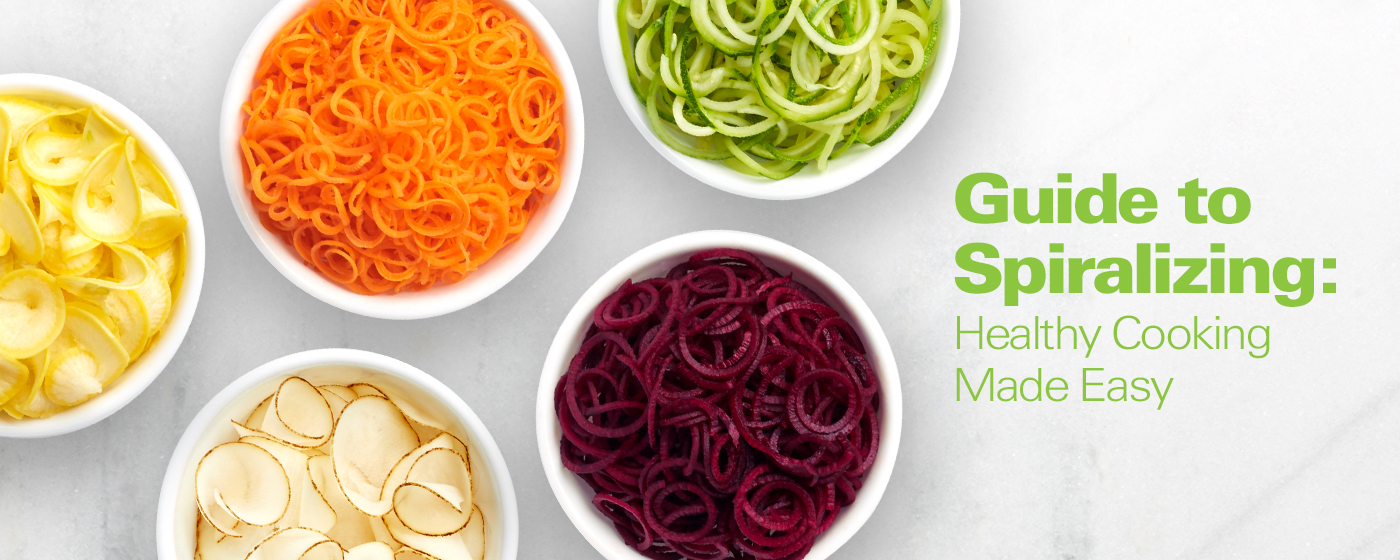 The Best Spiralizer Guide: Healthy Cooking Made Easy