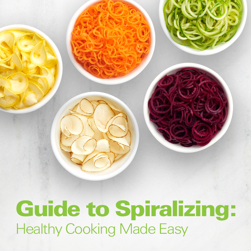 3-in-1 Electric Spiralizer Guide