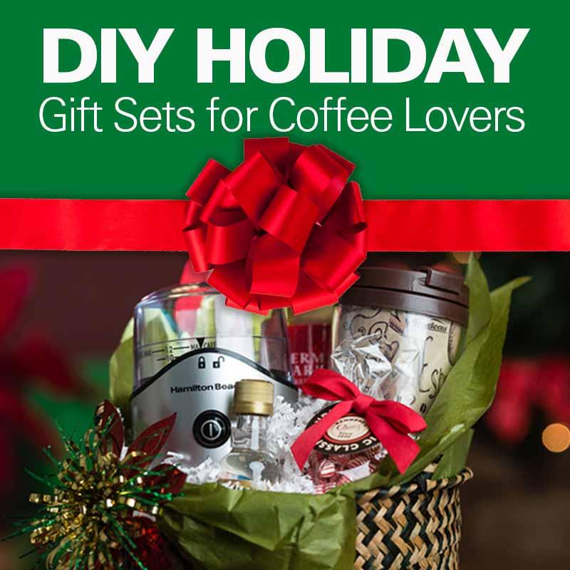 Coffee gift set for christmas