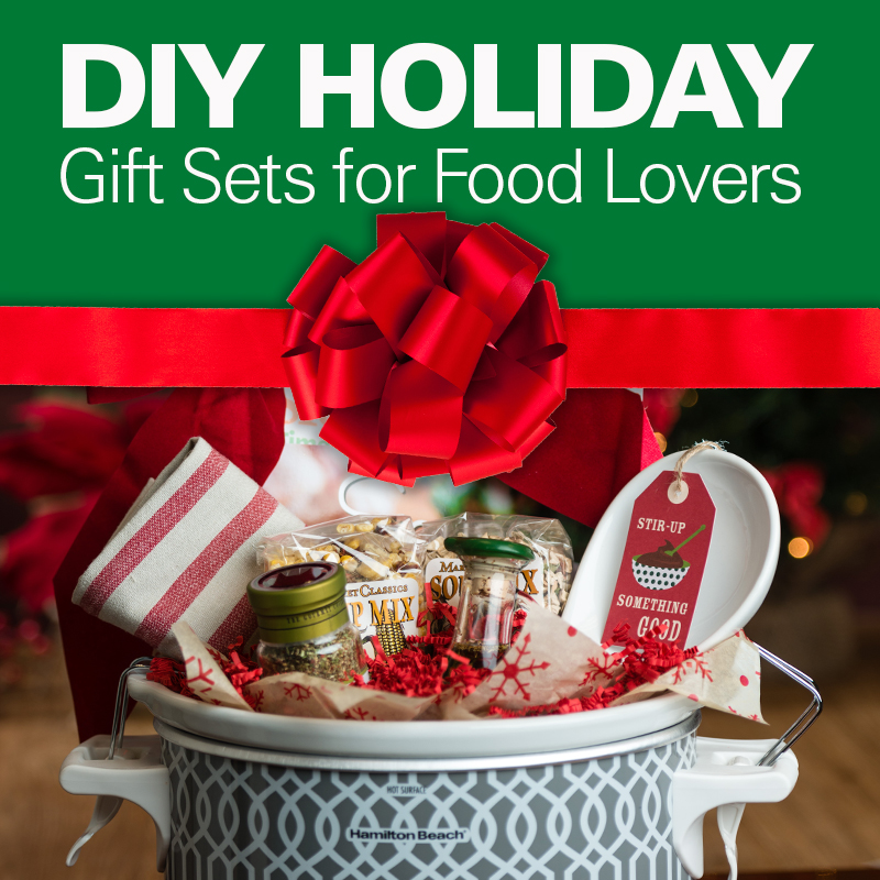 Diy holiday gift sets for food lovers Christmas gift ideas for cooking lovers