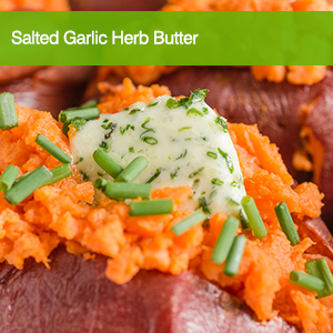 Salted Garlic Herb Butter