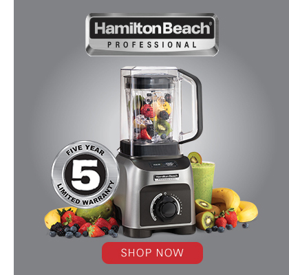 Buy the Hamilton Beach® Professional 1500 Watt Peak Power Quiet Blender Now