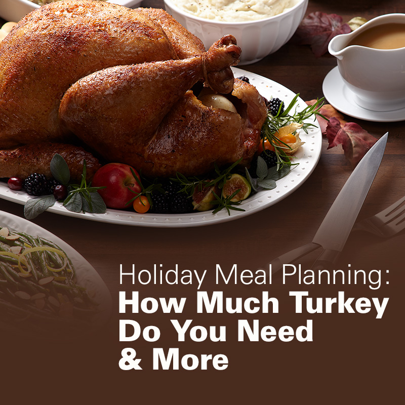 Holiday Meal Planning: How Much Turkey Do You Need & More