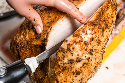 Carve the Turkey Breast