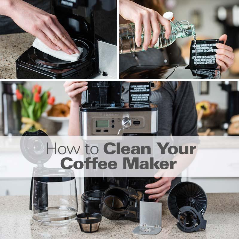 How to Clean a Coffee Maker - HamiltonBeach.com