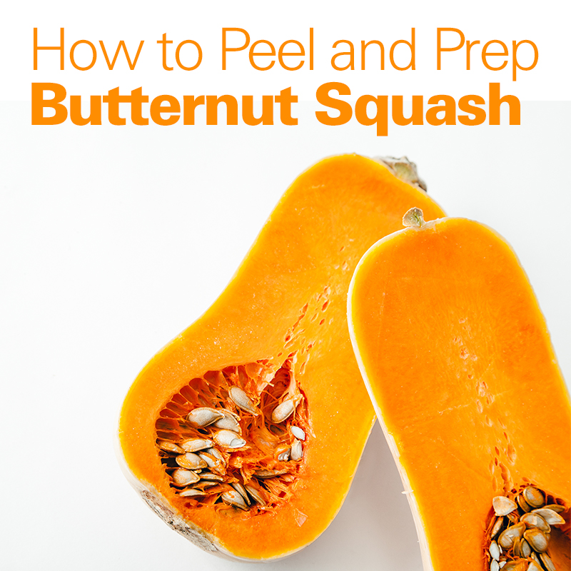 Mobile - How to Peel and Prep Butternut Squash