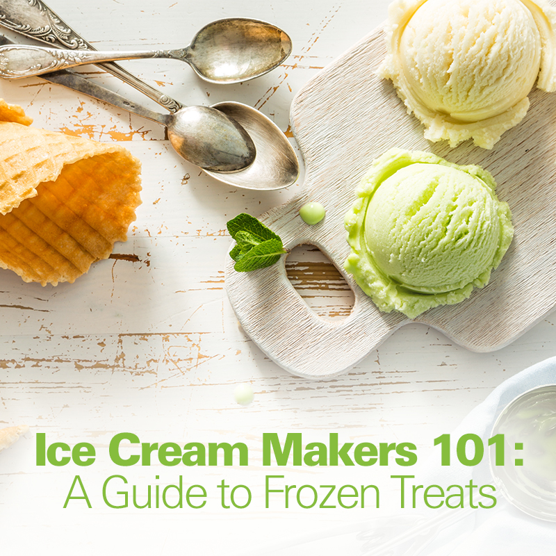 Ice Cream Makers 101: A Guide to Frozen Treats