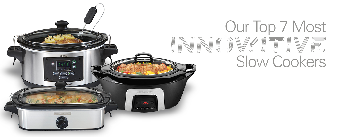 Our Top 7 Most Innovative Slow Cookers