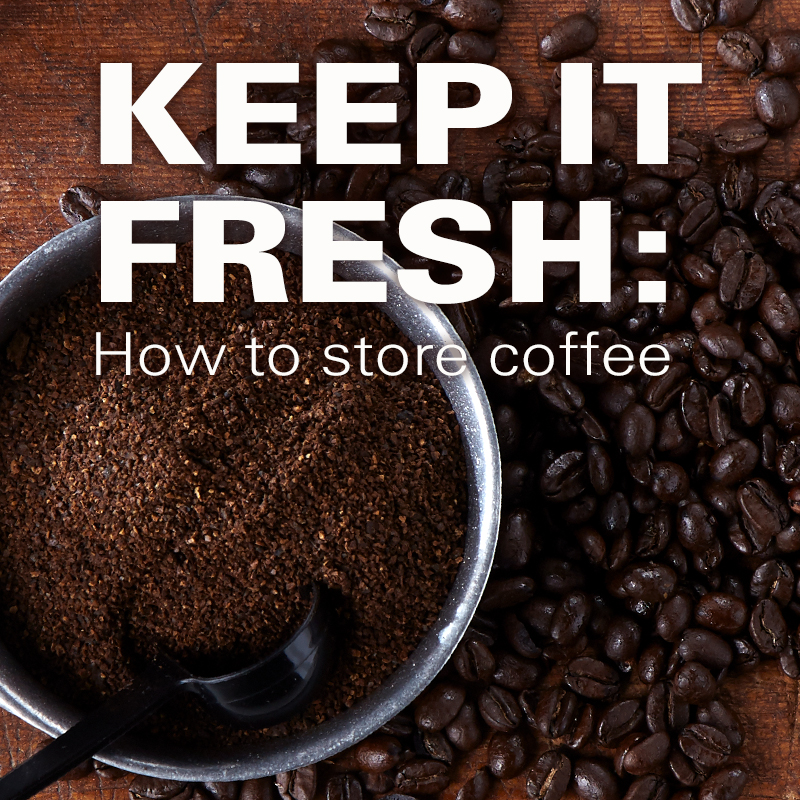 Mobile - Keep it Fresh: How to Store Coffee