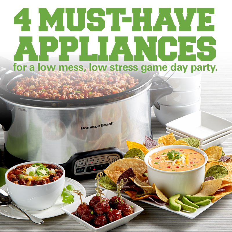 Mobile - Throw a Low Mess, Low Stress Game Day Party