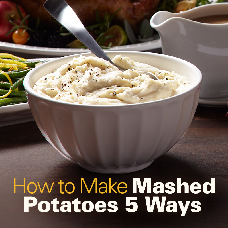Mobile - How to Make Mashed Potatoes 5 Ways