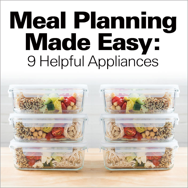 Mobile - Meal Planning Made Easy: 9 Helpful Appliances