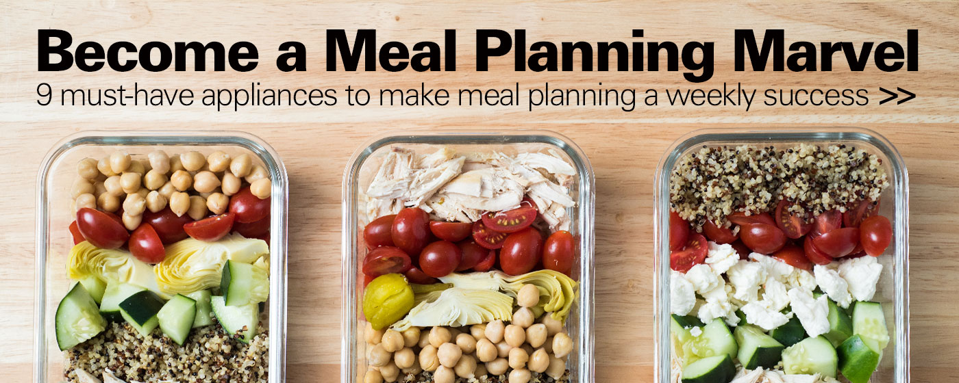 Meal Planning Made Easy: 9 Helpful Appliances