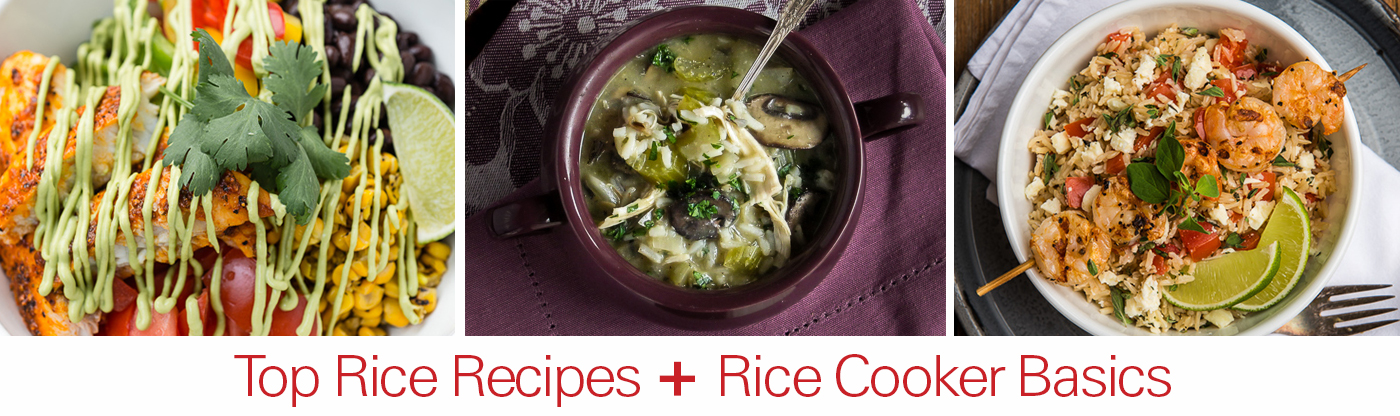 9 Top Rice Recipes + Rice Cooker Basics