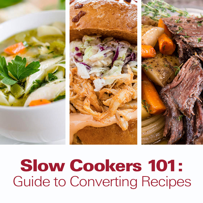Slow cookers 101 guide to converting recipes hamiltonbeach slow cookers 101 guide to converting recipes forumfinder Images