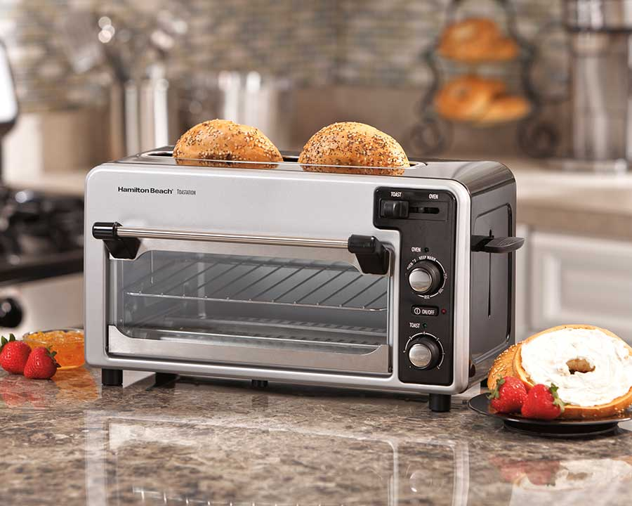 toastation toaster oven on a counter