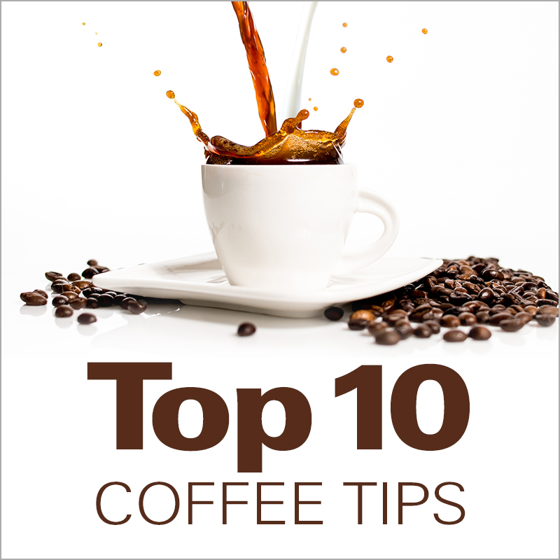 Mobile - Top 10 Coffee Tips