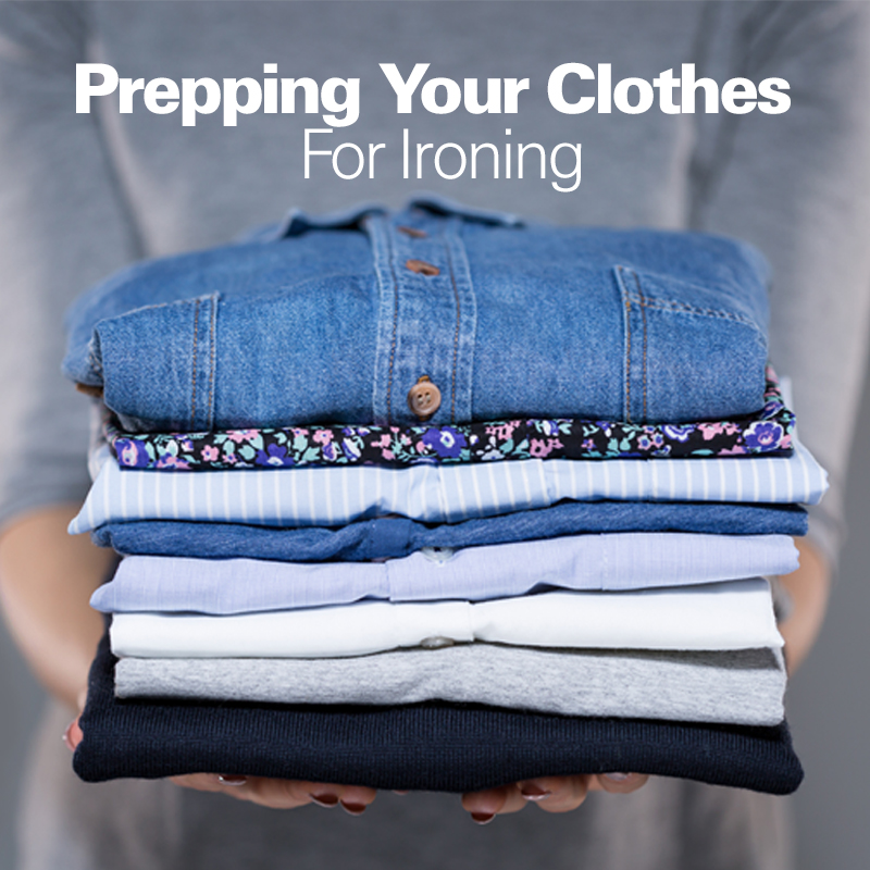 Mobile - Prepping Your Clothes For Ironing