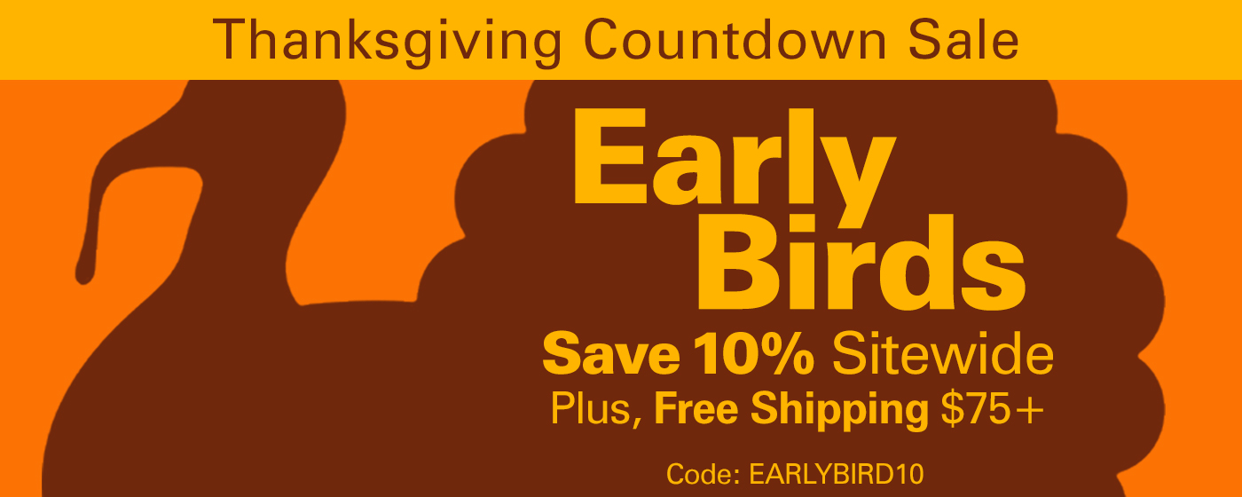 2018 Early Bird Sale