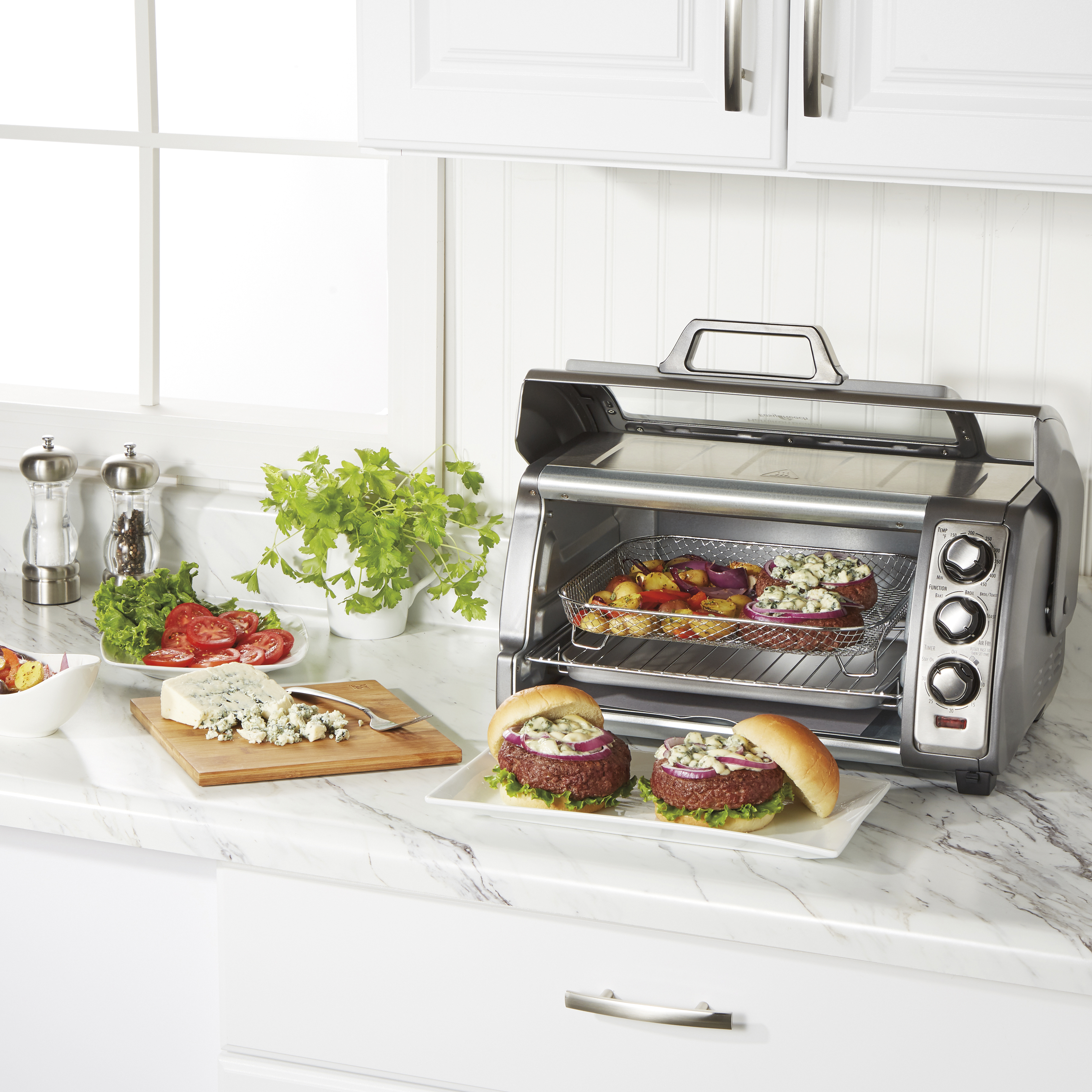 Enter for a Chance to Win a Hamilton Beach® Easy Reach® Sure-Crisp® Air Fryer Toaster Oven