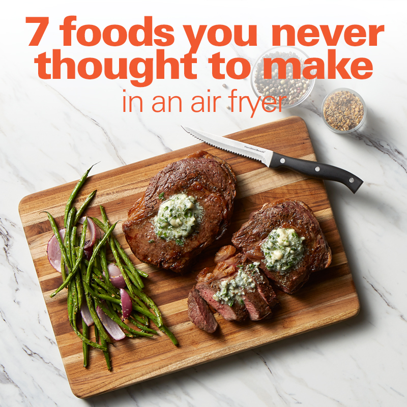 7 Foods You Never Thought To Make In An Air Fryer