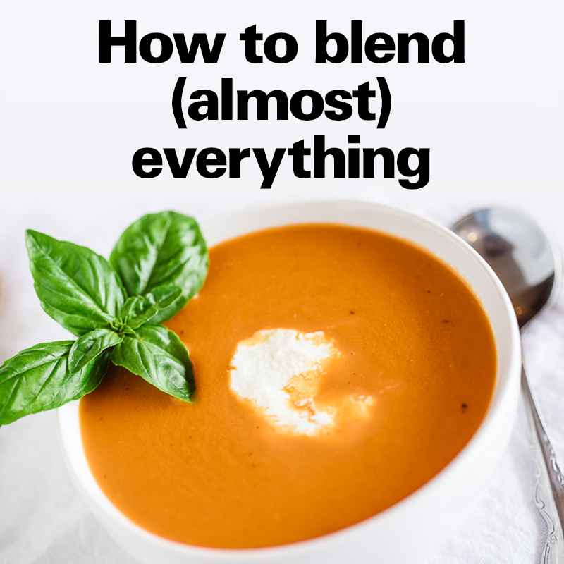 How to blend (almost) everything