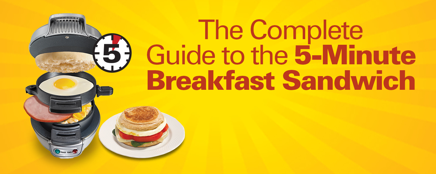 The Complete Guide to the 5-Minute Breakfast Sandwich