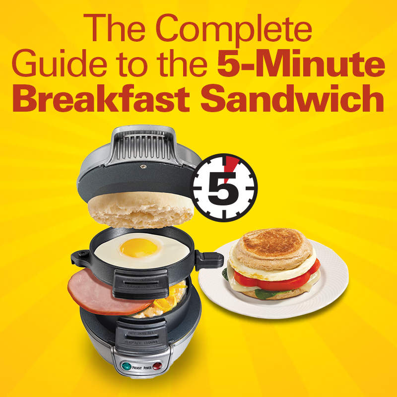 Mobile - The Complete Guide to the 5-Minute Breakfast Sandwich