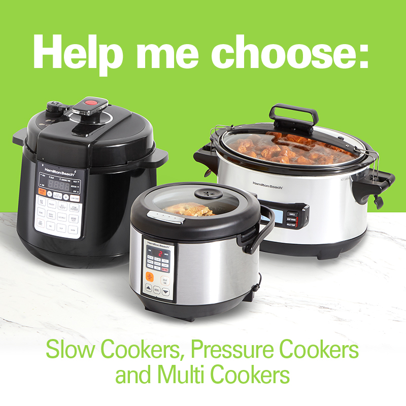 Help Me Choose: Slow Cookers, Pressure Cookers and Multicookers