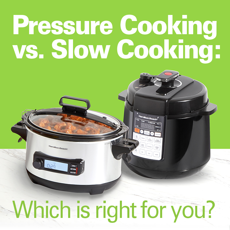 Slow Cooking vs. Pressure Cooking