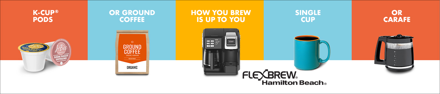 FlexBrew® Coffee Makers - How You Brew