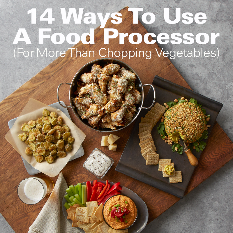 Superbe 14 Ways To Use A Food Processor (For More Than Chopping Vegetables)