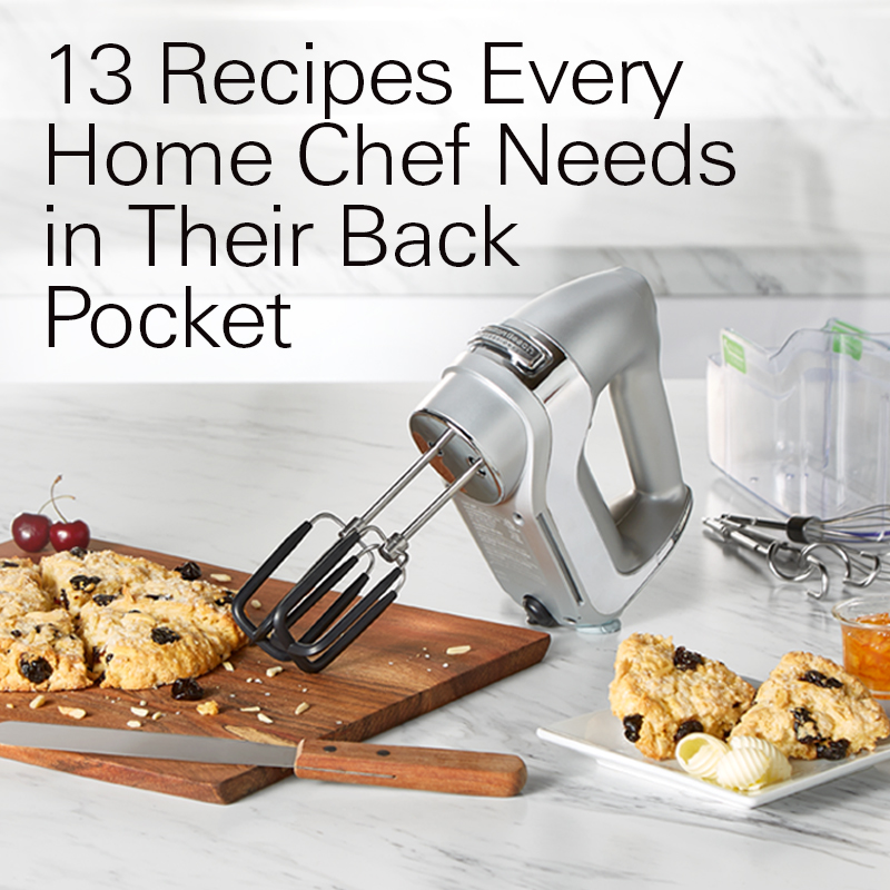 Cook Like a Pro: 13 Recipes Every Home Chef Needs in Their Back Pocket