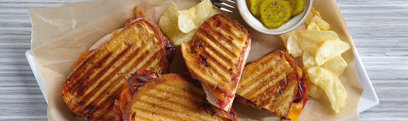 Panini & Sandwich Grill Recipes