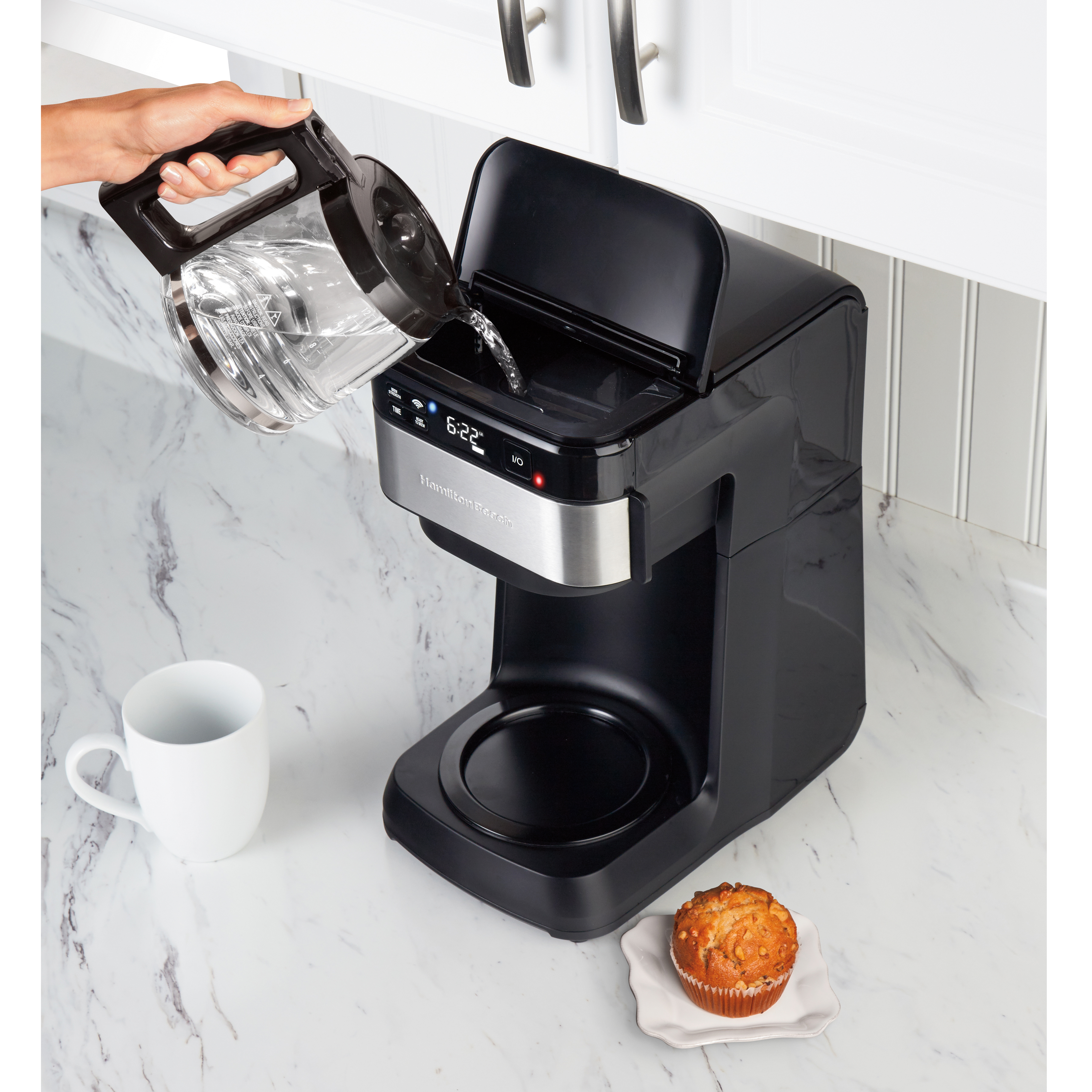 Enter for a Chance to Win a Hamilton Beach® Smart 12 Cup Coffee Maker