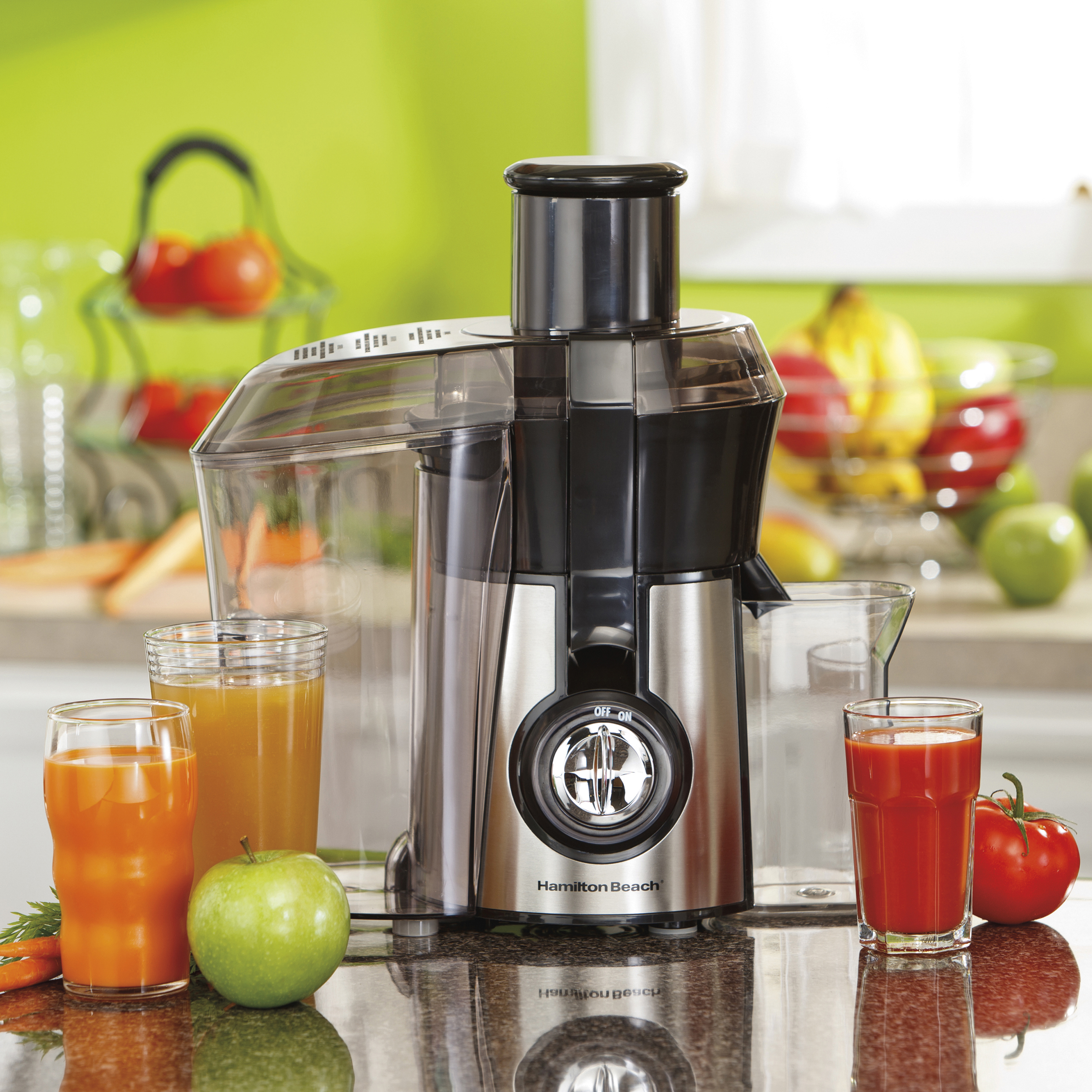 Enter for a Chance to Win a Hamilton Beach® Big Mouth® Juice Extractor