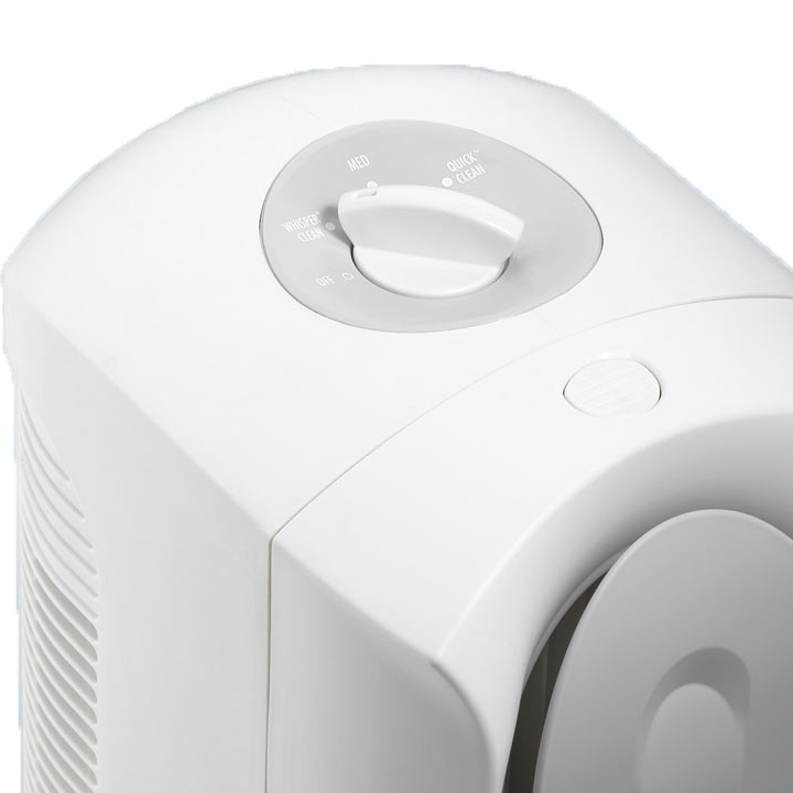 TrueAir Air Purifier 04384, Ultra-quiet, 3-speed operation for ultimate control.