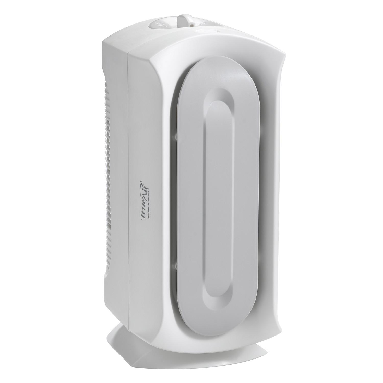 TrueAir Air Purifier 04384, Pet Dander, Allergen Reducer, Ultra Quiet, Permanent HEPA Filter, 2 Carbon Zeolite Filters