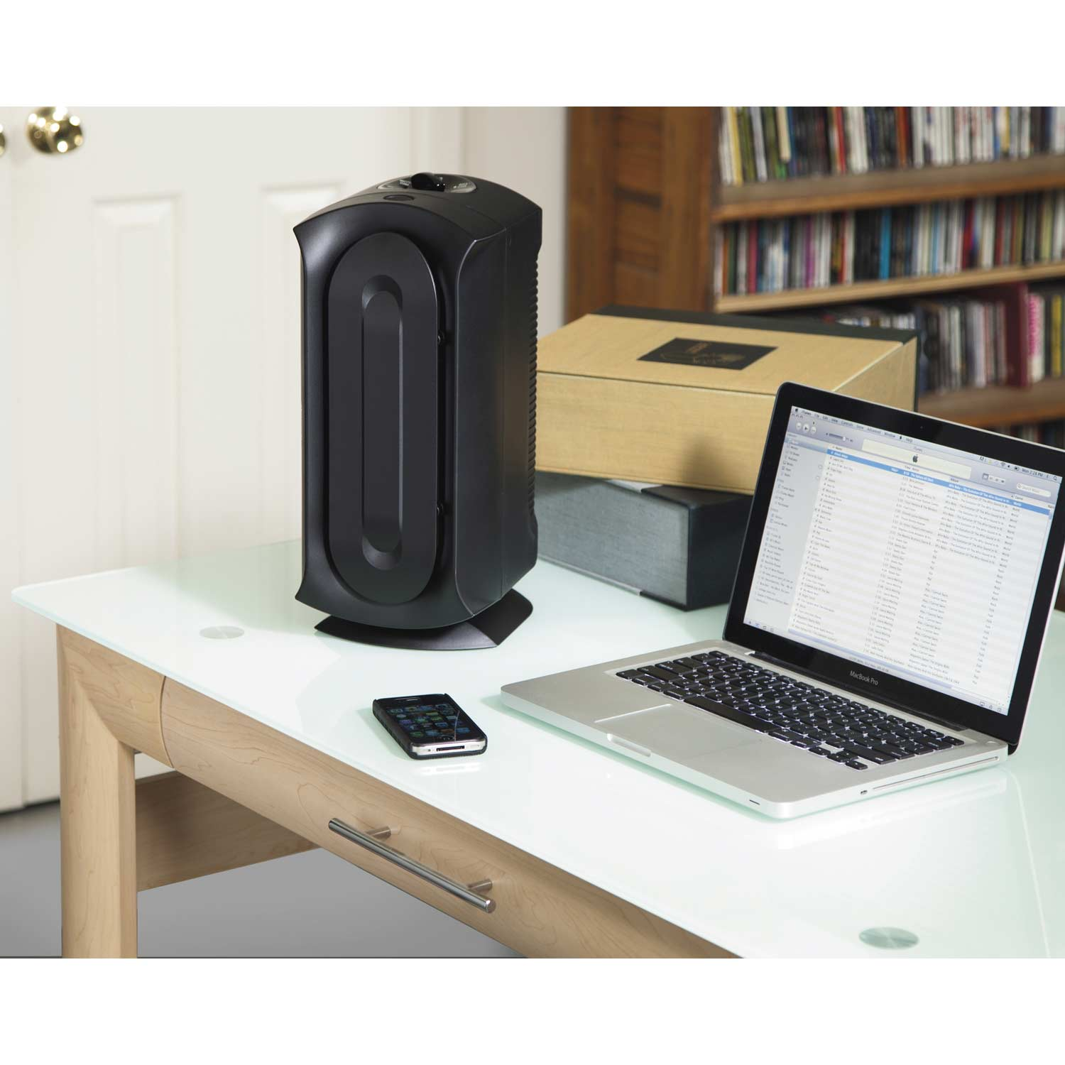 TrueAir Air Purifier 04386 is compact and ideal for any office or work space.