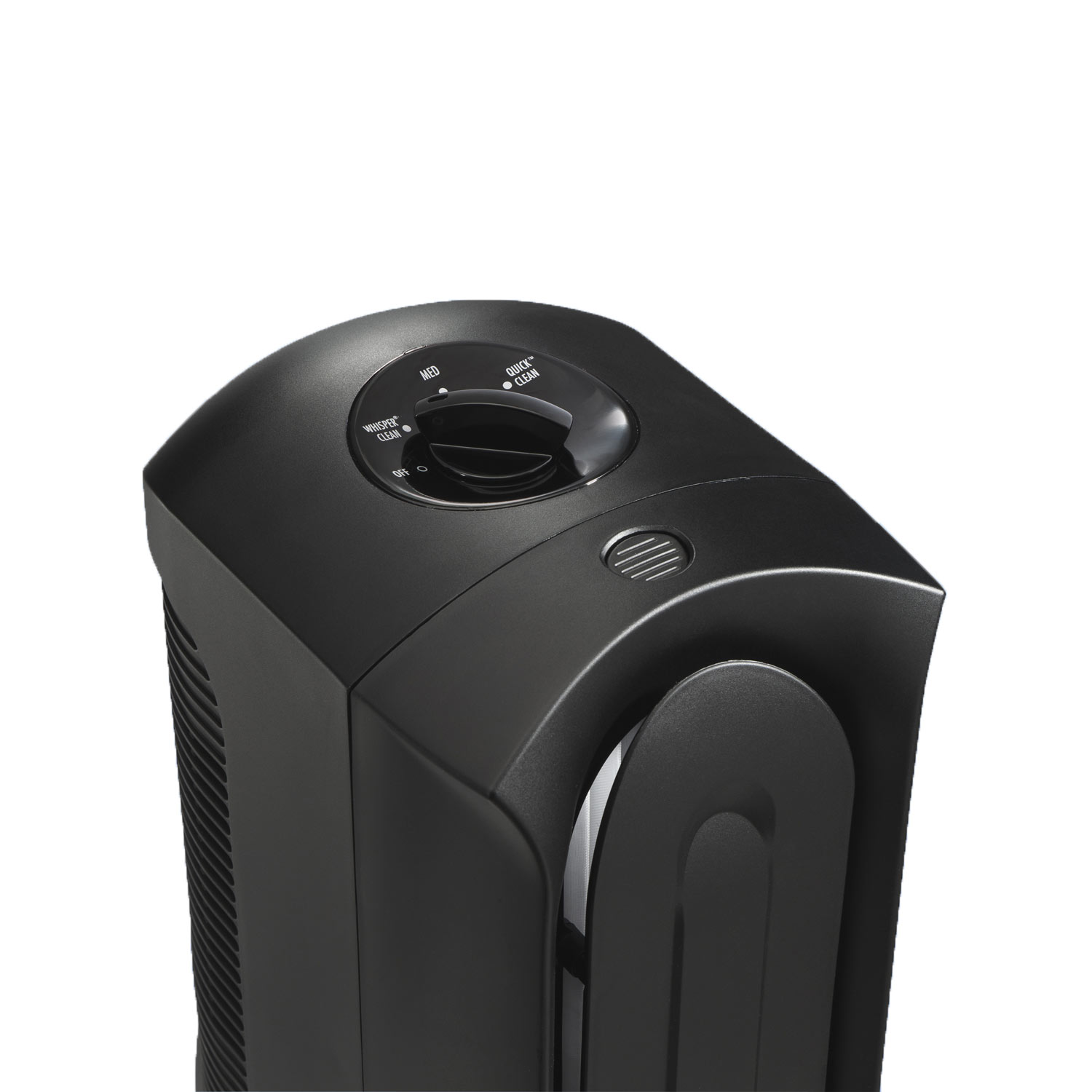 TrueAir Compact Air Purifier 04386 is ultra quiet with 3-speed operation that gives you ultimate control.