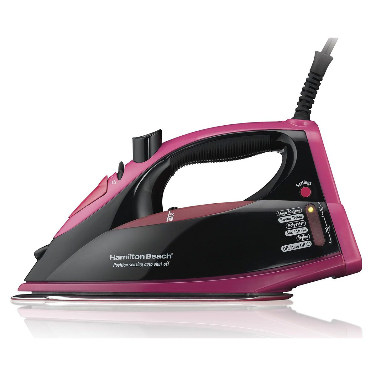 Electronic Control Iron - Pink (14348)